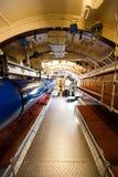 German World War 2 Submarine Type VIIC/41 - Torpedo Compartment Royalty Free Stock Photos