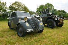 German World War 2 vehicles Stock Photo