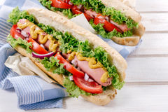 German wurst Royalty Free Stock Photos