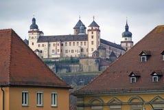 German Wurzburg zamek Zdjęcia Royalty Free