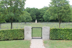 German WW1 military cemetery, St Mihiel, France Stock Images