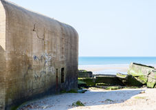 German wwii bunkers Stock Image