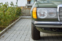 German youngtimer sedan stock photo