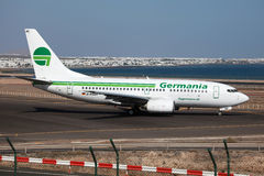 Germania Boeing 737-700 Stock Images