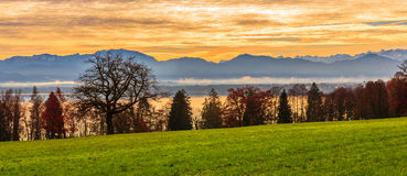 Germanian krajobraz Zdjęcia Royalty Free