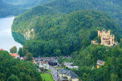 Germanic castle Stock Image