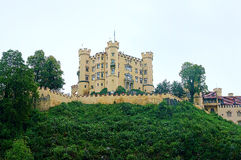 Germanic castle Stock Images