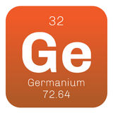Germanium chemical element Stock Photos