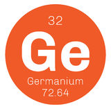 Germanium chemical element Royalty Free Stock Photo