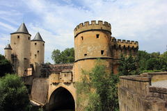 The germans gate in metz Royalty Free Stock Images