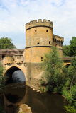 The germans gate in metz Royalty Free Stock Photography