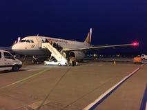 Germanwings飞机 免版税库存照片