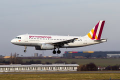 Germanwings Foto de Stock Royalty Free