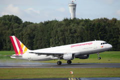 Germanwings Aerobus A320 Fotografia Stock