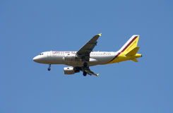 Germanwings Airbus A-319 royalty free stock images