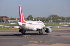 Germanwings Airbus lizenzfreies stockbild