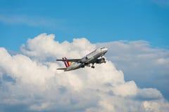 Germanwings Airbus A319 Foto de Stock Royalty Free