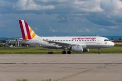Germanwings Airbus A319 Fotografia de Stock Royalty Free