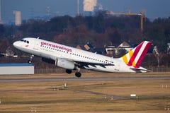 Germanwings Airbus A319 Imagem de Stock