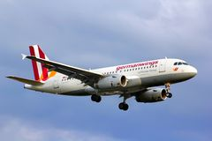 Germanwings Airbus A319 Royalty Free Stock Image