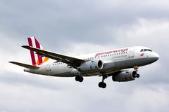 Germanwings Airbus A319 Royalty Free Stock Photo