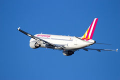 Germanwings Airbus A320-211 Royalty Free Stock Photos