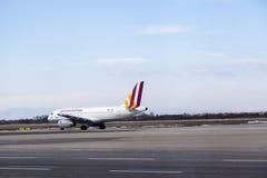 Germanwings airplaine Royalty Free Stock Image