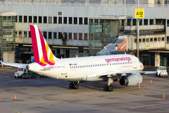 Germanwings-Luchtbus A319-132 Stock Afbeeldingen
