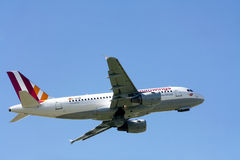 Germanwings in new colors Royalty Free Stock Image