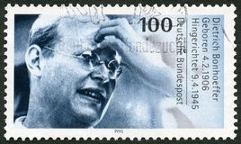 Free GERMANY - 1995: Shows Dietrich Bonhoeffer 1906-1945, Protestant Theologian Stock Photography - 119863792