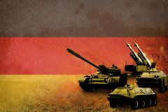 Germany army, military forces Stock Photos