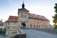 Germany,Bamberg,old city hall Stock Images