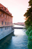 Germany,Bamberg,old city hall Royalty Free Stock Photo