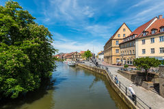 Germany. Bamberg. View of the old city architecture. Bamberg is Stock Photo