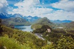 Germany bavaria alps travel Stock Photography