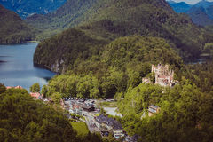 Germany bavaria alps travel Royalty Free Stock Photo