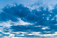 Germany, Bavaria, Clouds Royalty Free Stock Photo