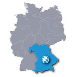 Germany and Bavaria Royalty Free Stock Photography