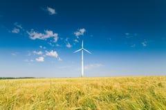 Germany, Bavaria, wind wheels Royalty Free Stock Photography