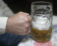 Germany beer mug. Octoberfest, Munich, Germany. With clipping path Stock Photo