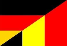 germany belgium flag Stock Photos