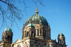 germany berkshires Berlin domkyrka Februari 16, 2018 royaltyfri fotografi