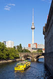 Germany, Berlin, Television Tower Stock Photo