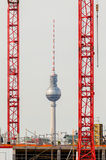 Germany, Berlin - TV Tower Royalty Free Stock Photo