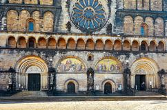Germany. St. Peter`s Cathedral in Bremen. February 14, 2018. Germany. Bremen. St. Peter`s Cathedral in Bremen. February 14, 2018 royalty free stock photo