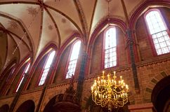 Germany. St. Peter`s Cathedral in Bremen. February 14, 2018. Germany. Bremen. St. Peter`s Cathedral in Bremen. February 14, 2018 royalty free stock photography