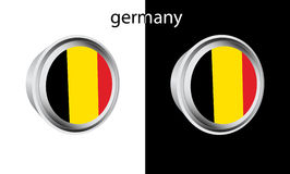 Germany button Royalty Free Stock Photography