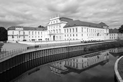 Germany, Castle Oranienburg Stock Photos
