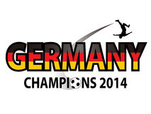 Germany Champions World Cup 2014 Royalty Free Stock Photos