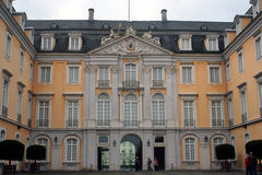 Germany Chateau Augusterberg. Chateau Augusterberg, front entrance, in Germany, Europe Stock Photos